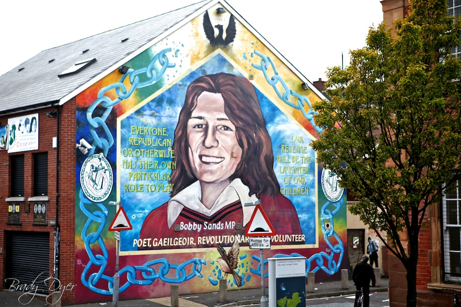 24 hours in belfast brady dyer photography for Bobby sands mural belfast