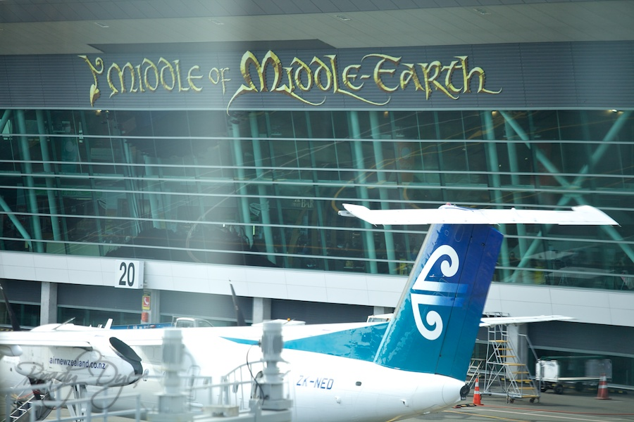 Middle Earth Airport - Wellington