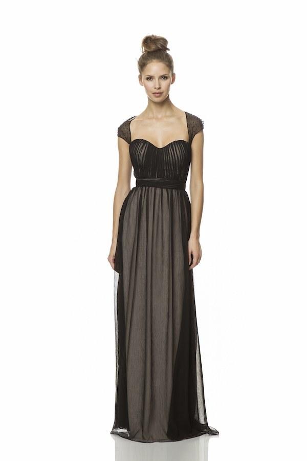 This chic, beaded cap sleeve dress — $155