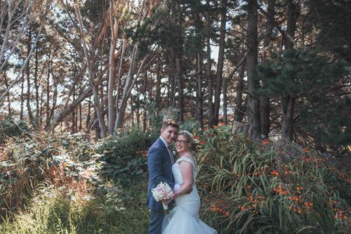 Rosie Ginger Wedding Lodge at Inlet 87